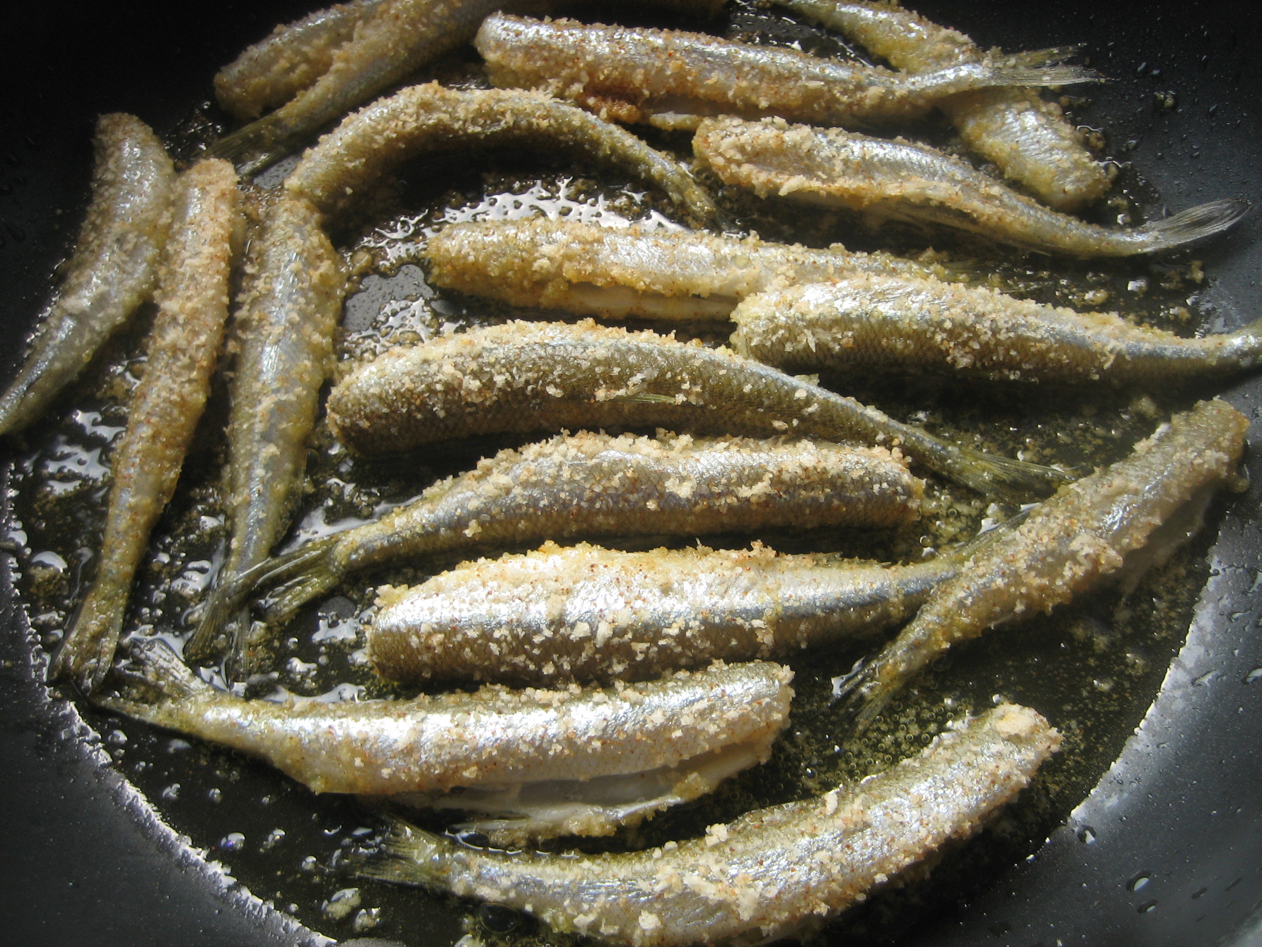 Great Lakes Fresh Fried Smelt Italian Handful