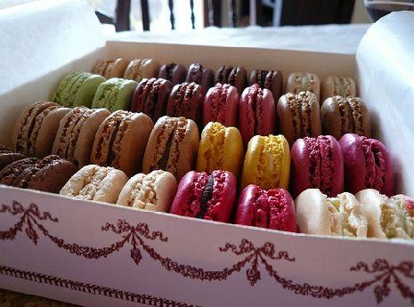 I deliziosi macarons