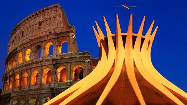 Roma e Brasilia comemoram aniversário de fundação em 21 de abril