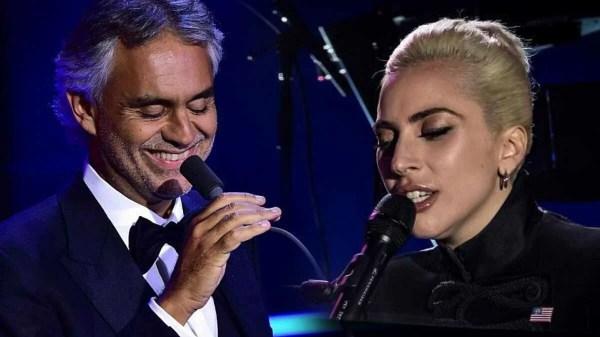 Festival com Bocelli e Gaga arrecadará fundos para combate ao coronavírus