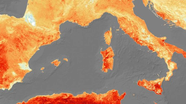 Verão mais quente na Itália