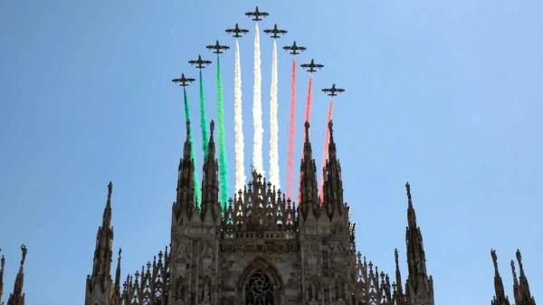 Frecce ftricolori Itália