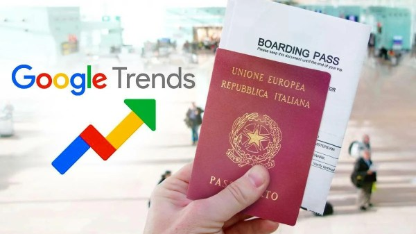 cidadania italiana google trends