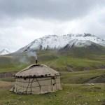 Горный пейзаж Киргизии 1