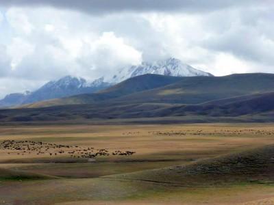 Горный пейзаж Киргизии 2