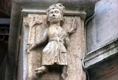 Duomo di Cremona, il Ciclo dei Mesi: Aprile.