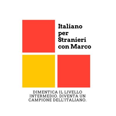italiano per stranieri con marco