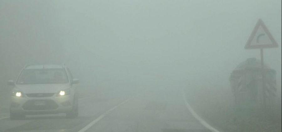 nebbia in italia