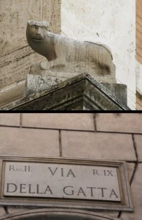 via della gatta roma