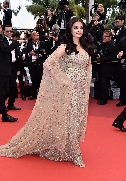 "CANNES, FRANCE - MAY 13: Aishwarya Rai attends the ""Slack Bay (Ma Loute)"" premiere during the 69th annual Cannes Film Festival at the Palais des Festivals on May 13, 2016 in Cannes, France. (Photo by Pascal Le Segretain/Getty Images)"