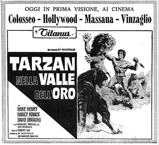 Tarzan nella valle dell'oro (1966)