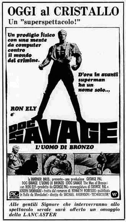 Doc Savage, l'uomo di bronzo (1975)