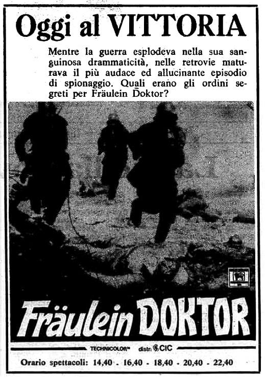 Fräulein Doktor (1969)