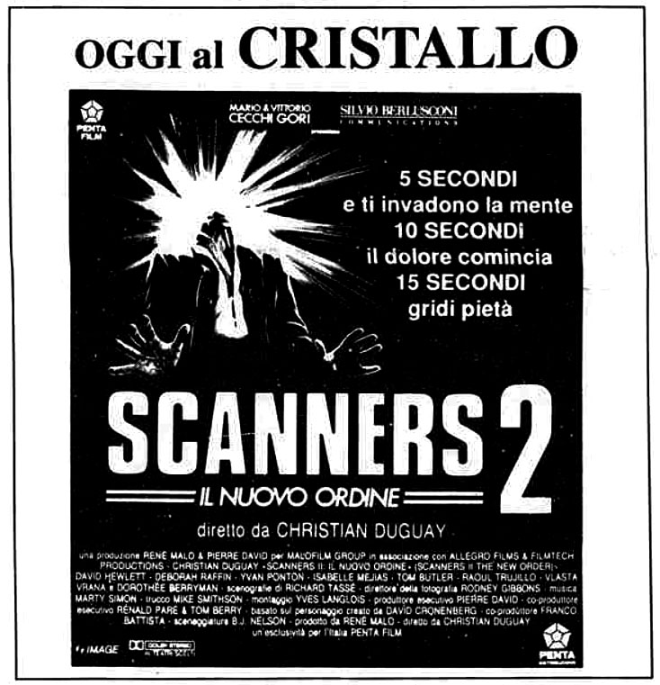 Scanners 2 – Il nuovo ordine (1991)