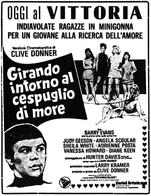 Girando intorno al cespuglio di more (1968)