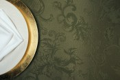 Silk Background and Plate Setting Overhead