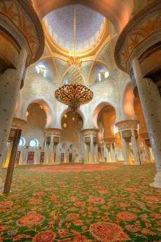 Shikh Zayed Grand Mosque Interior