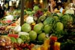 El Salvadorian street market