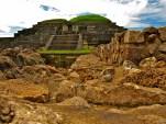 The Mayan ruins of Tazumal