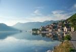 perast village in the bay of kotor montenegro