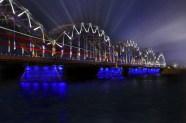 Riga Latvia bridge
