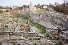 The ruins of Chersonesos