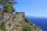 Turkey. Ruins of Ottoman fortress in Alanya