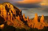 Red rock hills in Sedona