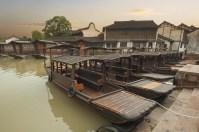 Beautiful Chinese water town in Suzhou area
