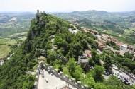 La Cesta fortless on Borgo Maggiore, San Marino