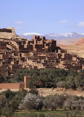 Ait Ben Haddou Kasbah, Atlas Mountains,