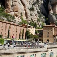The Mountain Sanctuary of Montserrat in Catalonia, Spain