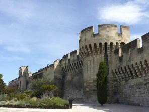 The city walls - Avignon, France