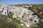Small village of Setenil in Andalusia, Spain
