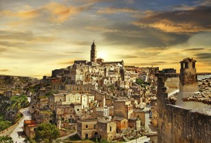 Matera - ancient city of Italy