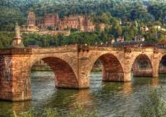 HDR of Heidelberg in germany