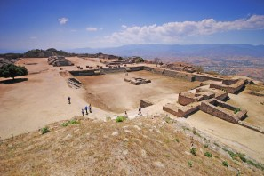 Monte Alban, archeological site, Mexico