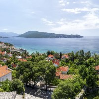 Seaside Town of Herceg Novi in Montenegro