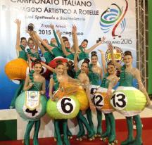 JEUNESSE 2015 primo Posto Campionati Italiani