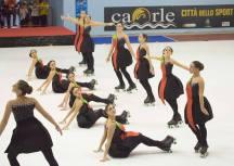 Momento dello Spettacolo del Gruppo Jeunesse al campionato regionale 2016