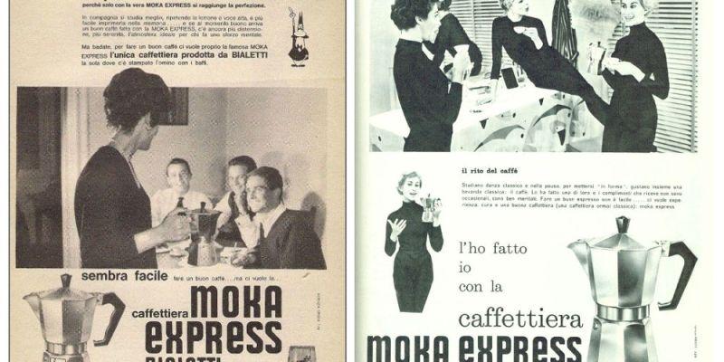 Bialetti Moka ads targeting women