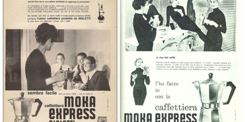Bialetti Moka ads targeting women