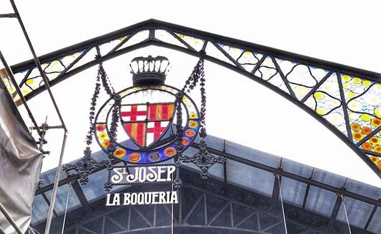 La boqueria - Barcelona Market on la Rambla