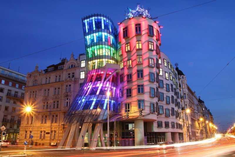 Dancing House of Prague - Czech Republic