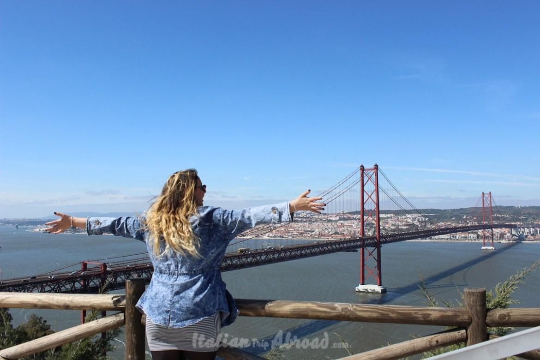 25 abril bridge - Lisbon - Italiantripabroad
