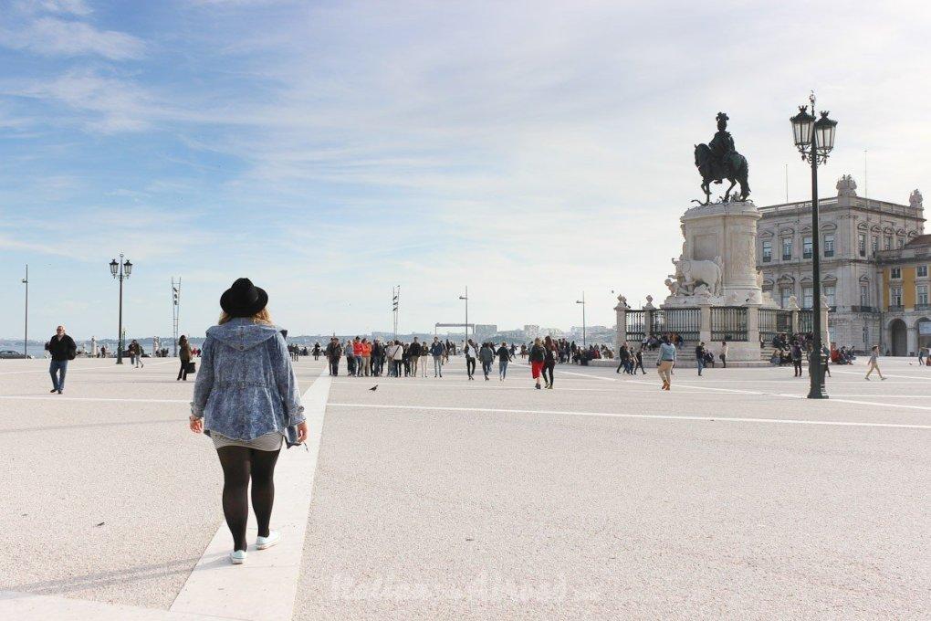 lisbon 3-days itinerary - plaça de Comercio - Lisbon - Italiantripabroad