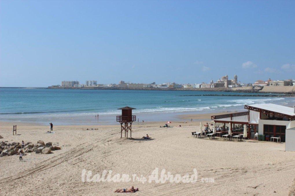 Cadiz seaside landscape