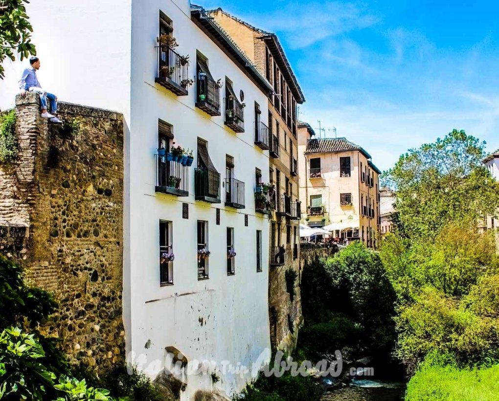 City centre of Granada Spain - Tour of Andalucia - Weekend Granada