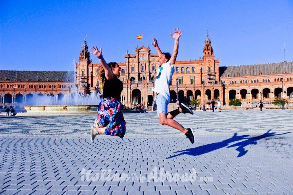 Seville itinerary 3 days - Plaza de Espana