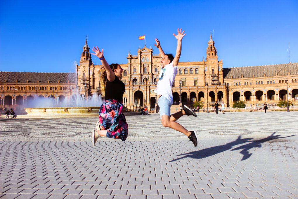 Plaza de Espana - Seville - Italian Trip Abroad instagrammable seville